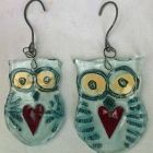 mummy + baby owl<br />£30 and £20 sold
